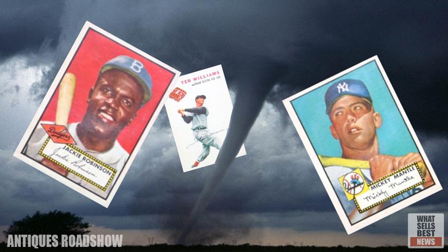 Found Tornado Treasure Worth 48000 Rare Baseball Cards
