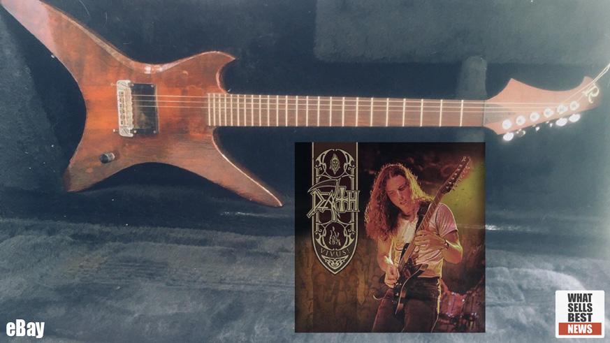 News Gt Chuck Schuldiner Death Guitar Fetches 10 100