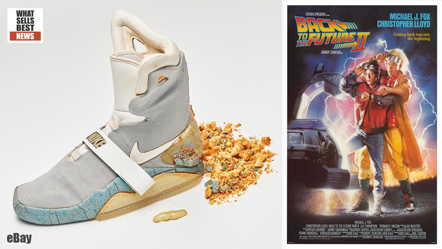 acumular seda Señal  SOLD > $92,000 for 'Back to the Future' Nike