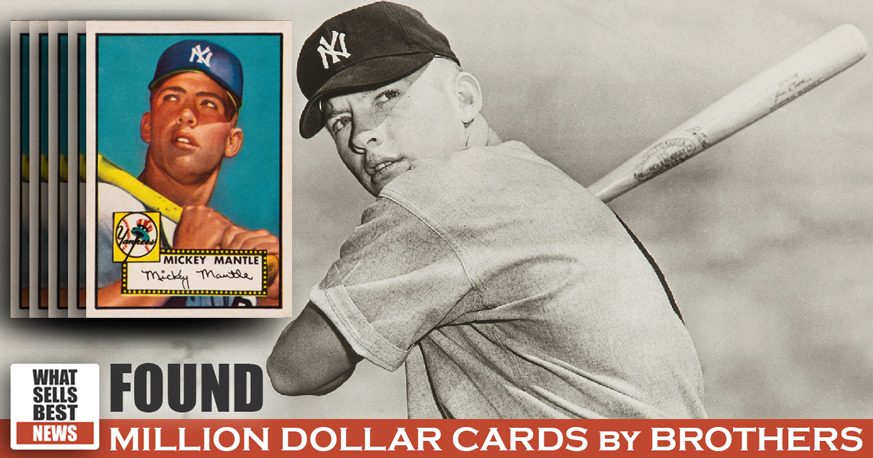 Found Boyhood Baseball Cards Worth A Million